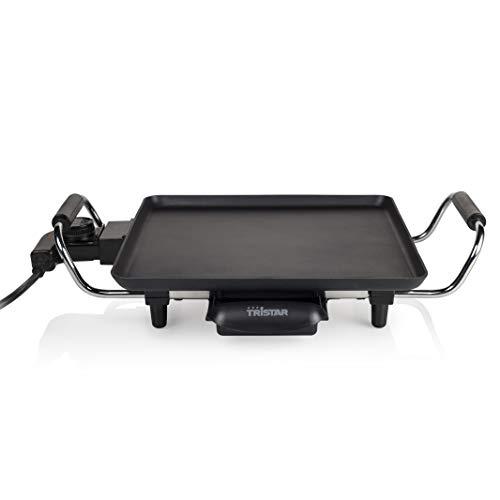 Parrilla Tristar BP-2958 – Adecuada para camping – Con termostato